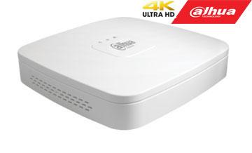 IP įrašymo įrenginys 8kam. 1HDD, 80Mbps, 1kn. 8MP, 8kn. 2MP 1080P, 8 PoE įėjimai, H.265+, easy4ip