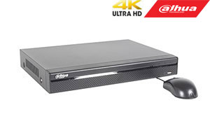 IP įrašymo įrenginys 8 kam., 4K 8MP, 1HDD, 4 PoE, 80Mbps, H.265/H.264, IVS