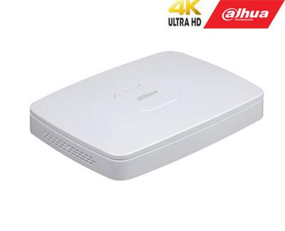 IP įrašymo įrenginys 16kam. 4K 8MP, 1HDD, IVS, H.265, 80Mbps, 8 PoE sąsajos