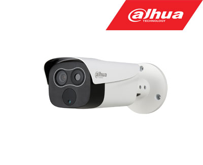 Termo hibridinė IP kamera, termo raiška  160x120, objektyvas 1mm + 2MP STARLIGHT  4mm., IVS, IP67