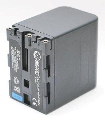 Sony, baterija NP-FM90/QM91