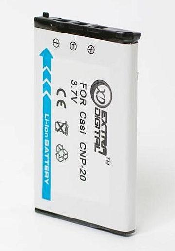 Casio, baterija NP-20