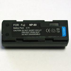 Fuji, baterija NP-80, KLIC-3000,DB-20