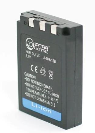 Olympus, baterija LI-10B, Li-12B