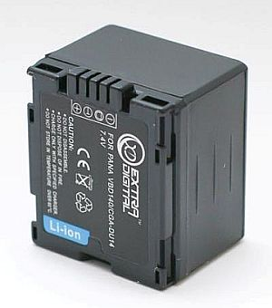 Panasonic, baterija CGA-DU14
