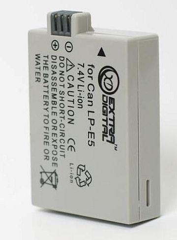 Canon, baterija LP-E5