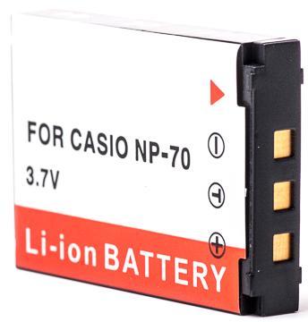 Casio, baterija NP-70