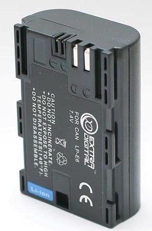 Canon, baterija LP-E6