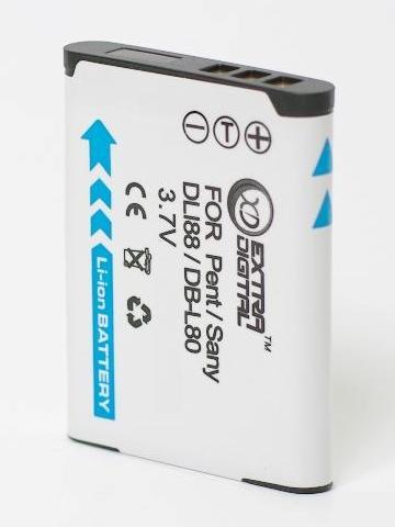 Sanyo, baterija DB-L80, D-Li88