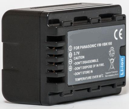 Panasonic, baterija VW-VBK180
