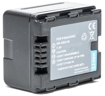Panasonic, baterija VW-VBN130