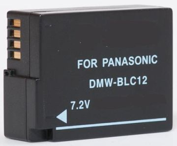 Panasonic, baterija DMW-BLC12