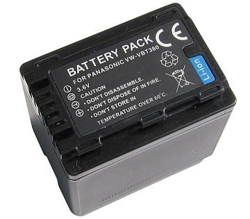 Panasonic, baterija VW-VBT380