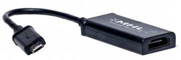 Adapteris Micro USB - HDMI (MHL)