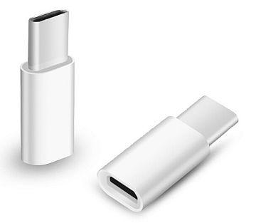 <b><mark><i>NAUJIENA!</i></b></mark> Adapteris USB 2.0 C - Micro USB