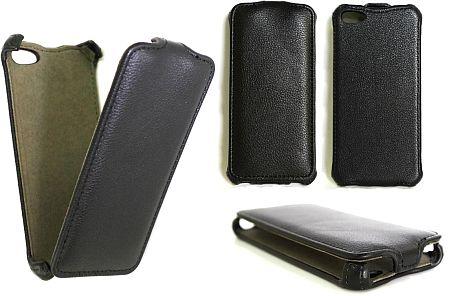 Atverčiamas odinis dėklas (iPhone 5C)