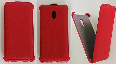 Atverčiamas odinis dėklas (HTC Desire 7