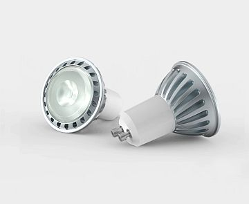 LED GU10, 6W, 220V, 2700K