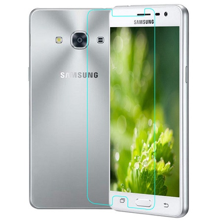 Apsauginis grūdintas stiklas / Tempered glass, Galaxy J3 (SM-J300) (2015) [2.5D]