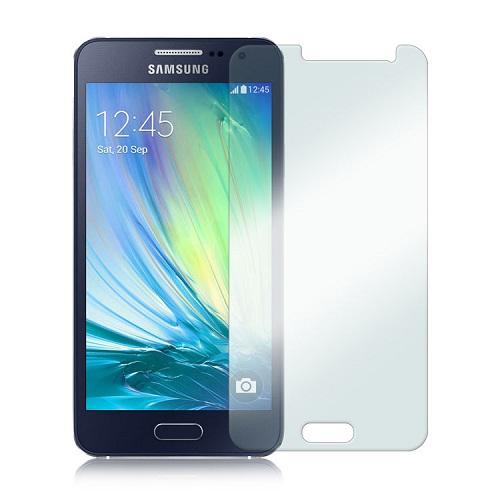 Apsauginis grūdintas stiklas/ Tempered glass, Samsung Galaxy A3 (2015) [2.5D, be pakuotės, 5vnt.]