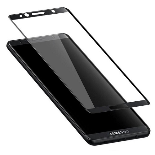 <b><mark><i>NAUJIENA!</i></b></mark> Apsauginis stiklas Samsung Galaxy S8 [3D, lipnūs kraštai)
