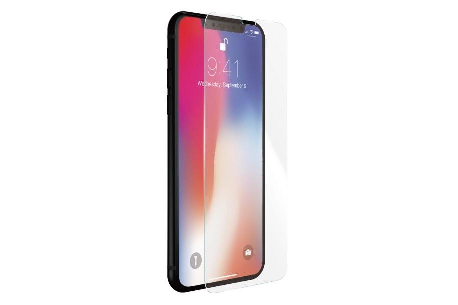 <b><mark><i>NAUJIENA!</i></b></mark> Apsauginis grūdintas stiklas Apple iPhone X [2.5D, be pak,5]