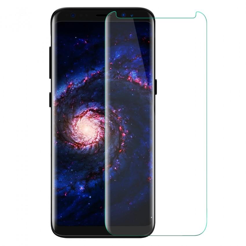 <b><mark><i>NAUJIENA!</i></b></mark> Apsauginis stiklas Samsung Galaxy S8+ (3D, p. lipnus, be pak.)