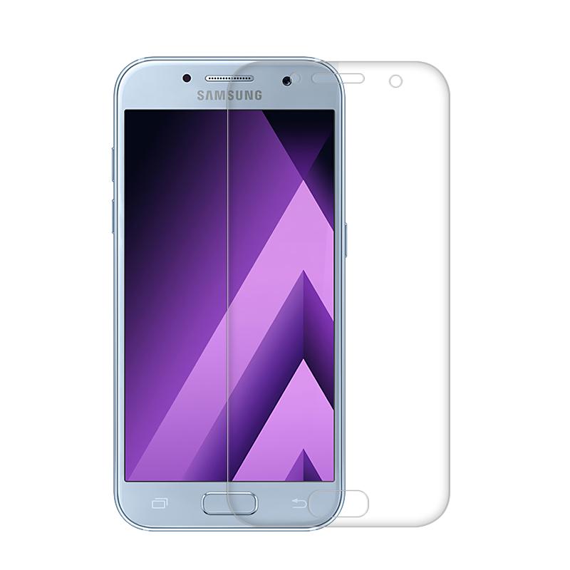 <b><mark><i>NAUJIENA!</i></b></mark> Apsauginis grūdintas stiklas, Samsung Galaxy A3 (2017) 3D