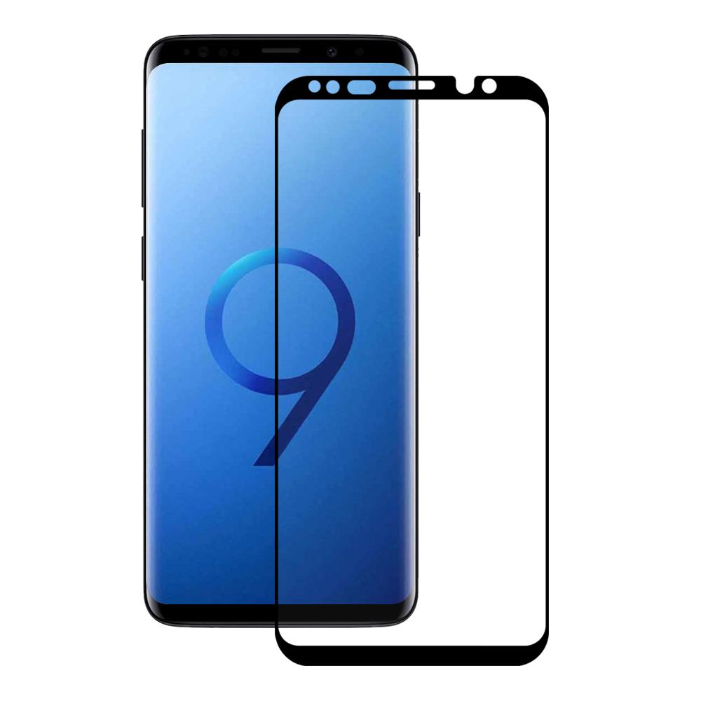 <b><mark><i>NAUJIENA!</i></b></mark> Apsauginis stiklas Samsung Galaxy S9 (3D, p. lipnus, be pak.)
