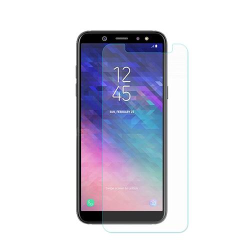 <b><mark><i>NAUJIENA!</i></b></mark> Apsauginis stiklas Samsung Galaxy A6 (2018, 3D, skaidrus)