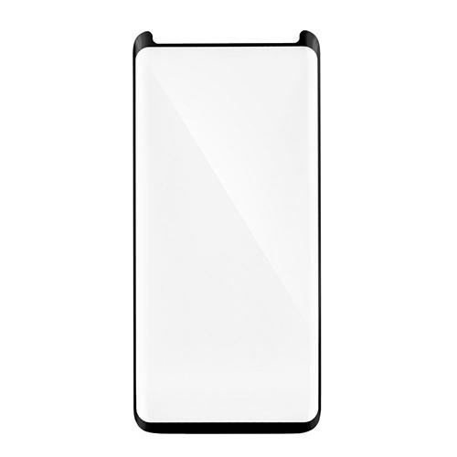 <b><mark><i>NAUJIENA!</i></b></mark> Stiklas Samsung Galaxy A6 (2018, 3D, p. lipnus, juodas)