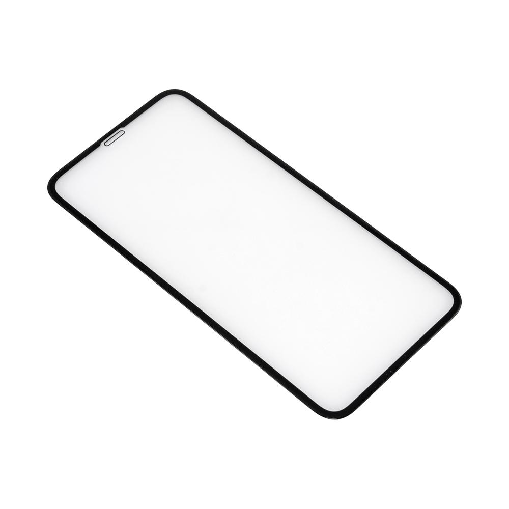 <b><mark><i>NAUJIENA!</i></b></mark> Apsauginis stiklas iPhone XR (3D, p. lipnus, juodas)