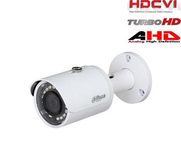 HD-CVI, TVI, AHD, CVBS kamera cilindriinė 2MP su IR iki 30m. 1/2.7