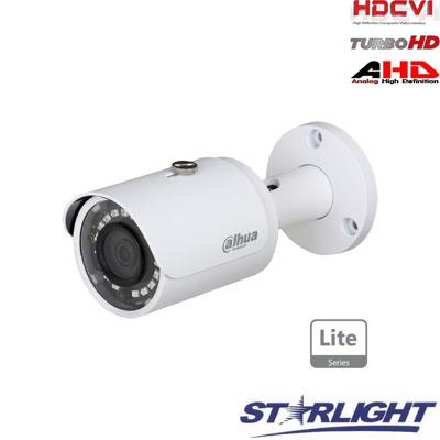 HD-CVI kam. STARLIGHT cilindrinė 2MP su IR iki 30m, 2.8mm obj., STARLIGT sensor., IP67