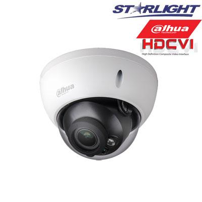 HD-CVI kam. STARLIGHT kupolinė 2.1MP su IR iki 30m, 2.7~13.5mm automatinis obj, STARVIS sensor.,WDR