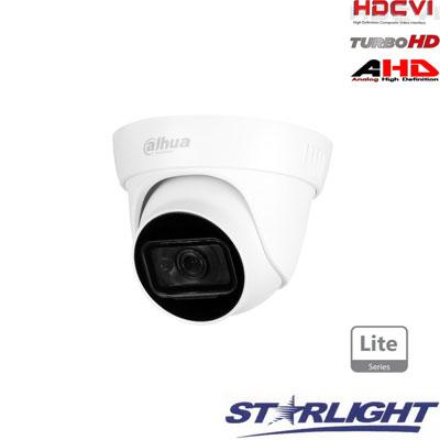 HD-CVI kam. STARLIGHT kupolinė 2MP su IR iki 30m, 2.8mm obj., STARLIGHT sensor., mic, IP67