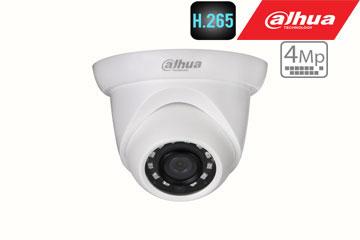 IP kamera 4MP kupolinė su IR iki 30m, 2.8mm., IP67, H.265
