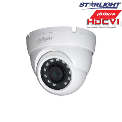 HD-CVI kam. STARLIGHT kupolinė 2.1MP su IR iki 30m, 2.8mm obj., STARVIS sensor., WDR