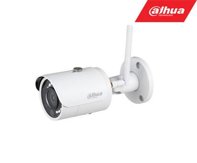 IP kamera  cilindrinė 4MP su IR iki 30m, WIFI, SD iki 128GB, 2.8mm 106°, DWDR, 3D-DNR