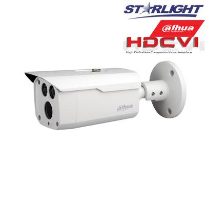 HD-CVI kam. STARLIGHT cilindrinė 2.1MP su LXIR iki 80m, 3.6mm obj., STARVIS sensor., WDR, IP67