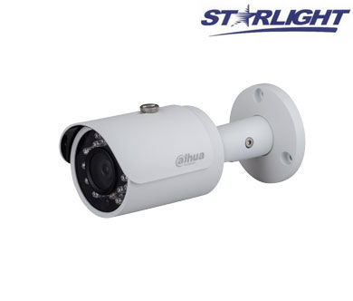 "IP kam. cilindrinė 2MP STARLIGHT, IR iki 30m.,1/2.8"" 3.6mm.87°,WDR, IVS, IP67, ROI"