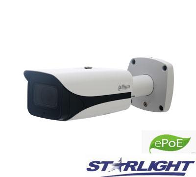 """IP kamera cilindr. 2MP STARLIGHT su IR iki 200m. 1/2.8"""",5.3-64mm. WDR, IP67,IVS, 0.006Lux"""