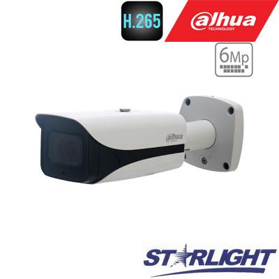 "IP kamera cilindr.6MP STARLIGHT 20fps, IR 50m.,1/2.9"" 2.7~13.5mm. motor. obj. WDR, H.265, IP67, ePoE"