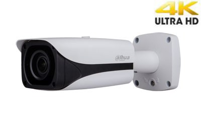 "4K IP kamera cilindrinė 12M, IR iki 50m.,1/1.7"" 4.1~16.4mm, 12MP 20fps, IP67, IVS, DWDR, SSA"