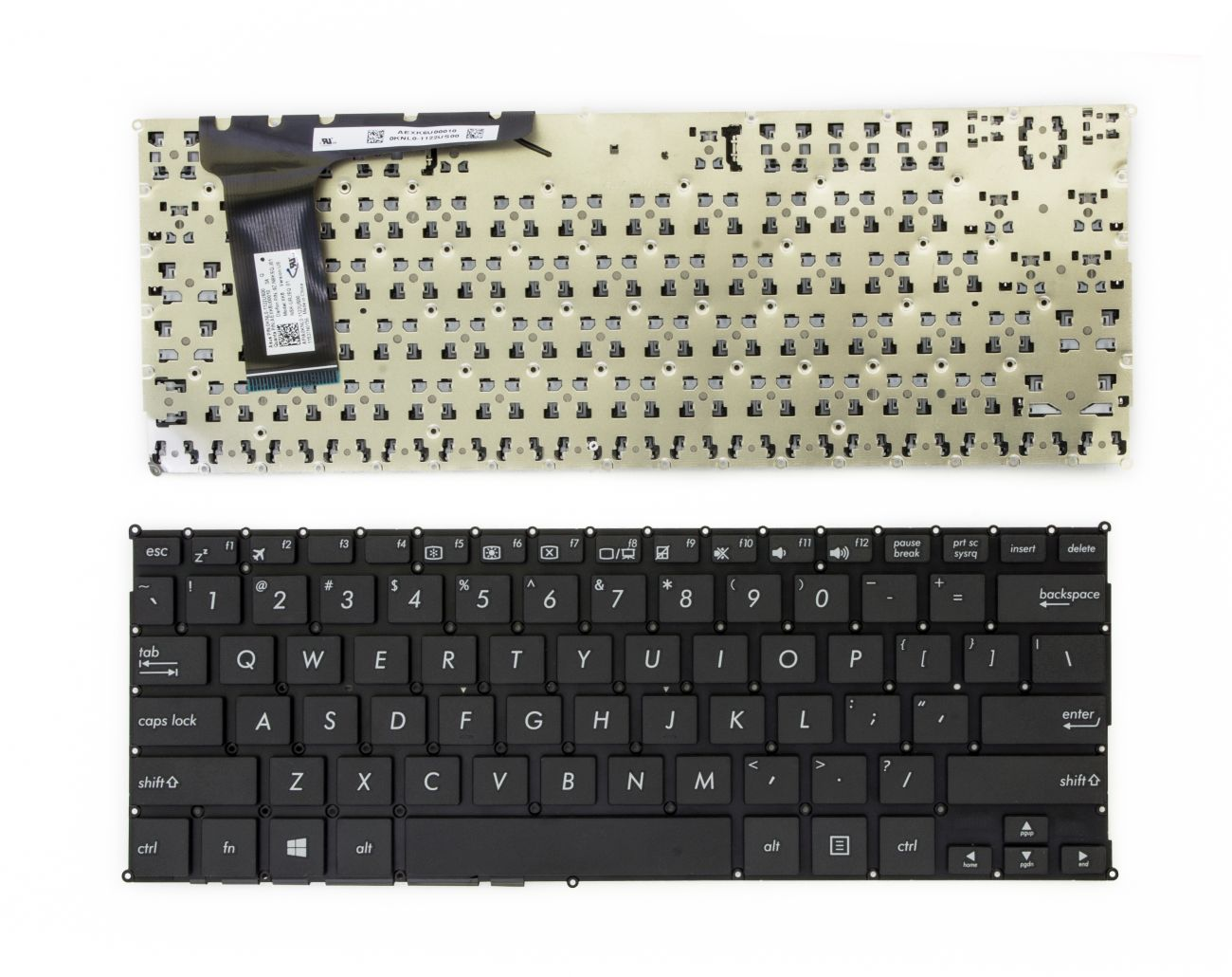 Klaviatūra ASUS VivoBook: X201, X201E, X202, X202E