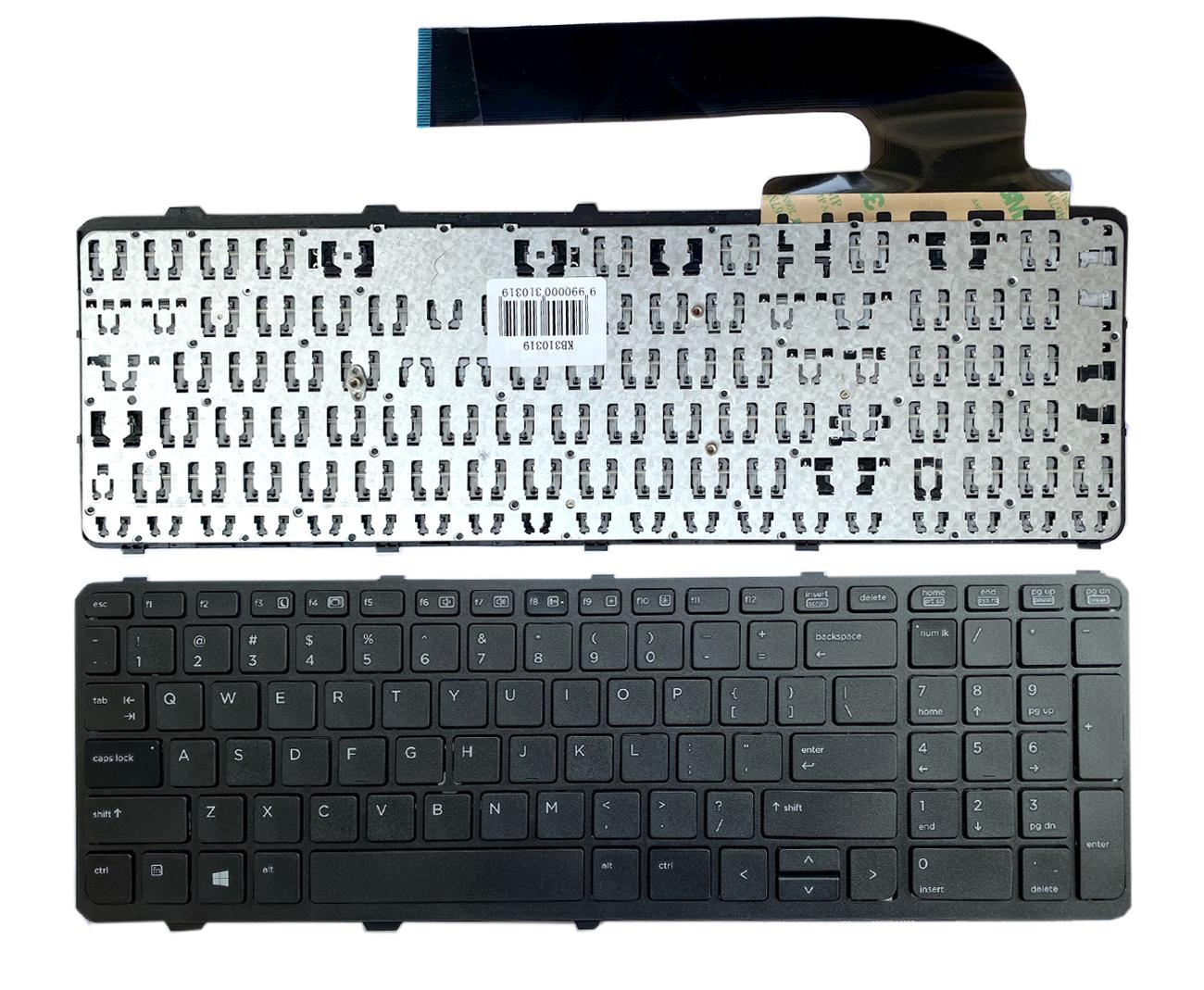Klaviatūra HP Probook: 450, 450 G0, 450 G1, 450 G2, 455, 470, 650