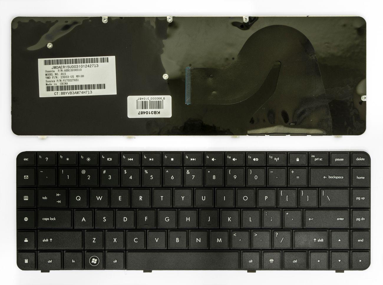 Klaviatūra HP G56, G62