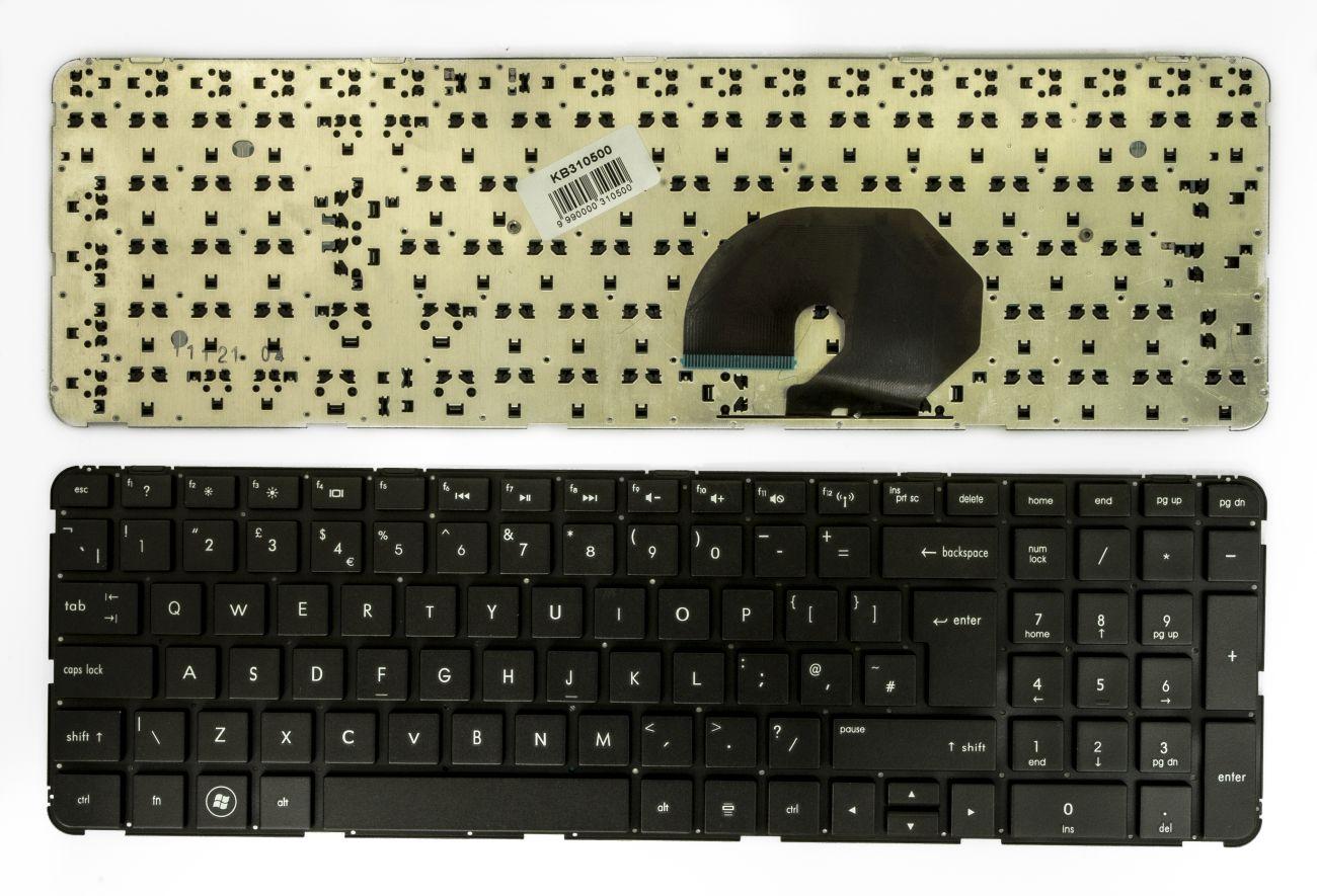 Klaviatūra HP/COMPAQ DV7-6000, 6100, 6200, UK