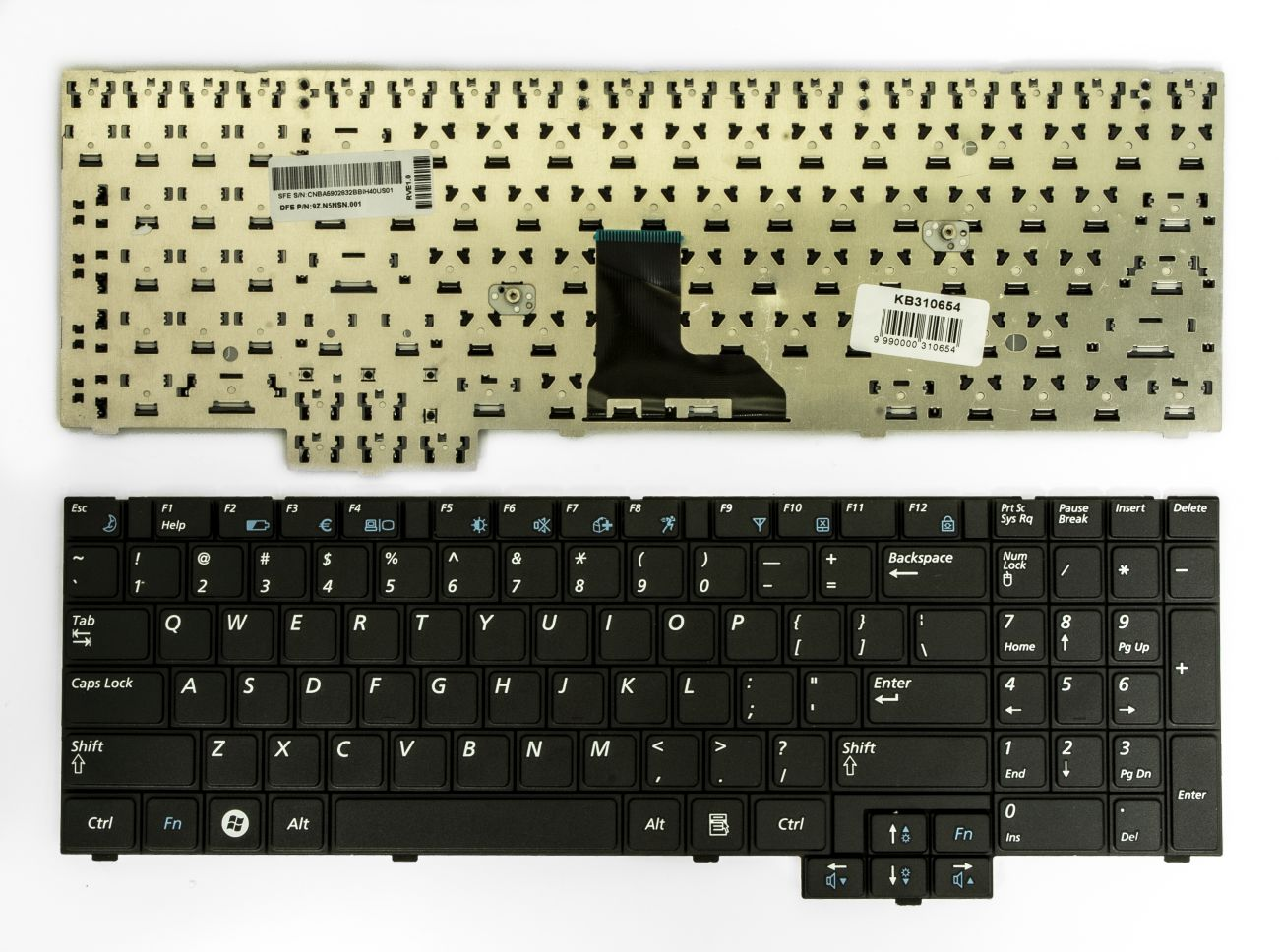 Klaviatūra, SAMSUNG NP-RV508, NP-RV510