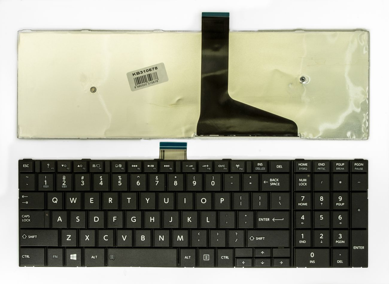 Klaviatūra, TOSHIBA Satellite C50, C50A, C50-A, C50D-A, C55, C55T, C55D, C55-A, C55D-A